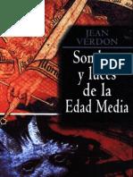 Verdon Jean - Sombras y Luces de La Edad Media
