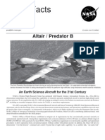 NASA Facts Altair Predator B 2001