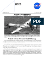 NASA Facts Altair Predator B 2002