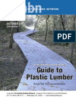 Guide to Plastic Lumber