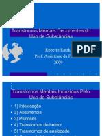 PSIQUIATRIA Dependência química de álcool 09-04