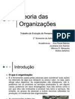 Apresentacao Grupo - Teoria Das Organizacoes