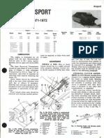 1971-1972 ALSPORT Snowmobile Manual