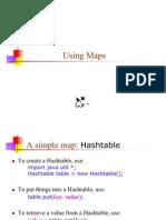 11 Using Maps