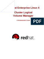 Cluster Logical Volume Manager