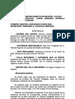 Amparo Directo en Revision 1978-2005 Primera Sala