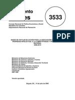 Conpes 3533