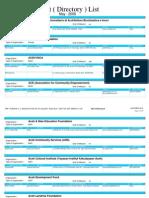 Kontak Organisasi Mei 2008