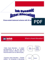 Kotak Dynamic Asset Allocator