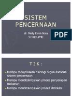 9. FISIOLOGI SISTEM PENCERNAAN
