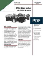 3103 Gas Valve EM35 Driver