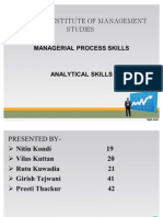 MPS - Analytical Skills