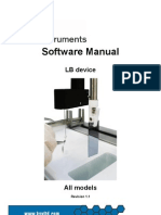 Lb Software Manual