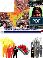 New SEC - Demographic Map of India