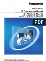 Panasonic PC Programming Manual