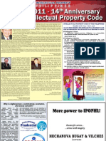 Manila Bulletin special section on the 14th Anniversary of RA8293, Philippine Intellectual Property Code