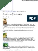 Stresul Versus Fructe Si Le..