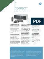 MOTOTRBO System Specifications