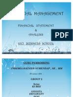 [ Financial Management ] - Fs & Analysis