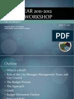 060711 Lakeport City Council - Budget Workshop