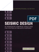CEB - Seismic Design of Reinforced Concrete Structures