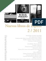 Nuevos Libros de España 2 - 2011