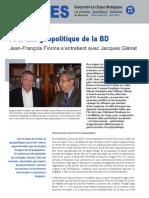 Pour une géopolitique de la BD - Les entretiens du directeur Hors Série n°6