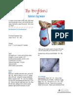 Boyfriend Sweater PDF