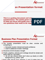 Business Plan Presentation Guide