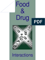 Food and Drug Interactions