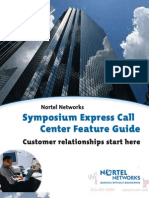 Nortel Symposium Express Call Center Technical