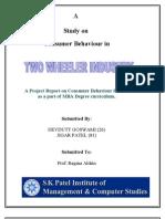 Two Wheeler Industry