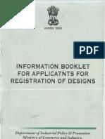 7 7 General Information Booklet for Registration of Design