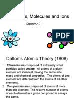 AP Ch 2 Atoms Molecules Ions Nomenclature