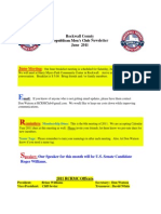 Rockwall County Republican Mens Club Newsletter June 2011