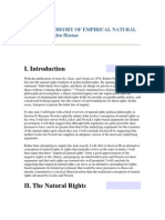 Hasnas Toward a Theory of Empirical Natural Rights
