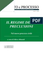 Il Regime Delle Preclusioni Nel Nuvo Processo Civile
