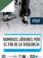 Hombres jóvenes por el fin de la violencia