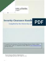 Security Clearance Handbook