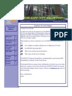The KIPP NYC Redwood - Volume 1, Issue 7