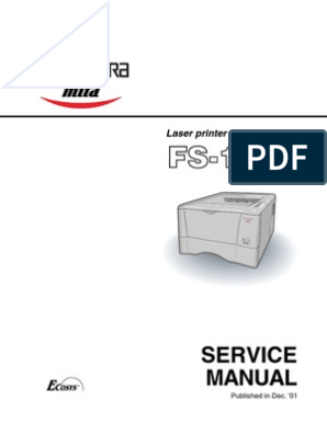 Kyocera FS--1010 Service Manual | Electrical Connector