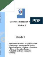 Research Scaling & Sampling