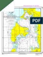 Carta Nautica Rutas as COL900