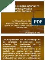 Criterios Jurisprudenciales Adriana Cabezut