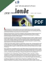 Le Monde Les biens mal acquis africains gênent la France