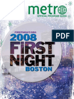 First Night Program Guide