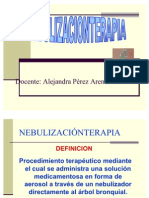 Nebulización-terapia