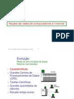 Aula 1 - Introdução às redes de computadores e Internet - impressão