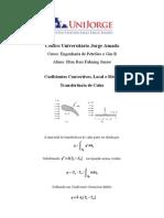 Fenomenos II - Coeficiente Convectivo