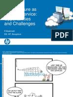 Cloud Oppurtunities & Challenges by Badrinath -HP